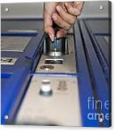 Safe Box Acrylic Print