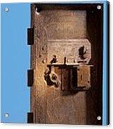 Safe Door From The Titanic Acrylic Print