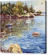 Safe Harbor - Oak Point Acrylic Print