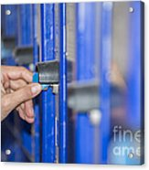 Safety Box Acrylic Print