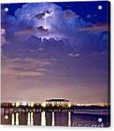 Safety Harbor Pier Illuminated Acrylic Print