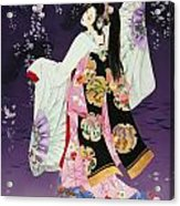Sagi No Mai Acrylic Print by Haruyo Morita