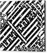 Sagittarius Maze  Acrylic Print