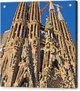 Sagrada Familia In Barcelona Acrylic Print