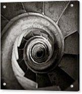 Sagrada Familia Steps Acrylic Print