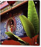 Saigon Temple Acrylic Print
