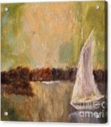 Sail Away With Me Acrylic Print