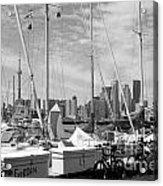 Sail Boats Toronto On Acrylic Print