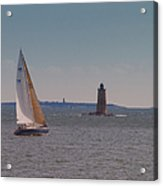 Sail On The Tide Acrylic Print