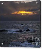 Sail Rock Sunrise 2 Acrylic Print