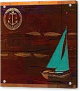 Sail Sail Sail Away - J173131140v3c4b Acrylic Print