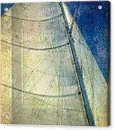 Sail Texture Acrylic Print