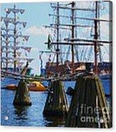 Sailabration Baltimore Acrylic Print