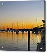 Sailboat Bay Acrylic Print