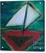 Sailboat Acrylic Print