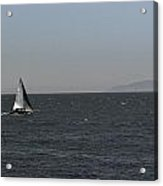 Sailboat Acrylic Print by Nick Garner