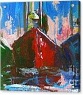 Sailboat Acrylic Print by Patricia Awapara