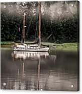 Sailboat Reflection Acrylic Print