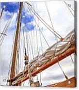 Sailboat Rigging Acrylic Print