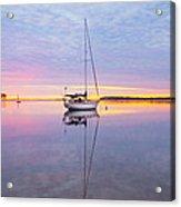 Sailboat Sunrise Acrylic Print
