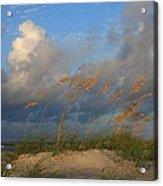 Sailboat Wrightsville Beach North Carolina  Acrylic Print