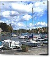 Sailboats On Sunapee Acrylic Print