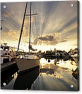 Sailed In Acrylic Print