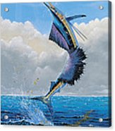 Sailfish Dance Off0054 Acrylic Print