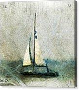 Sailin' With Sally Starr Acrylic Print