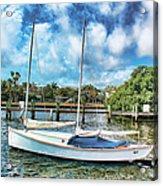 Sailboat Series 01 Acrylic Print