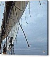 Sailing A Skipjack Acrylic Print