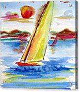Sailing Away Acrylic Print