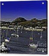 Sailing Conwy Harbor Acrylic Print