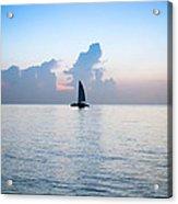 Sailing Daybreak Acrylic Print