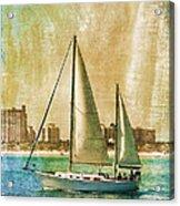 Sailing Dreams On A Summer Day Acrylic Print