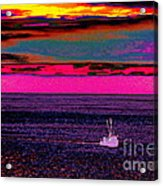 Sailing Home After Long At Sea Acrylic Print