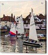 Sailing Home Acrylic Print by Trevor Wintle