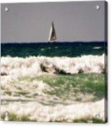 Sailing In California Acrylic Print
