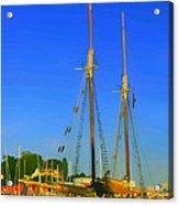 Sailing In Maine Acrylic Print