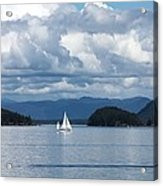 Sailing In The San Juans Acrylic Print