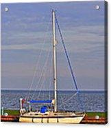 Sailing In Volendam Acrylic Print
