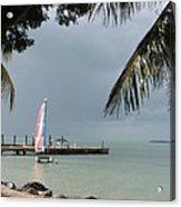 Sailing Key Largo Acrylic Print