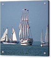 Sailing Lake Erie Acrylic Print