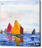 Sailing Nantucket Sound Acrylic Print