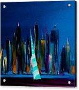 Sailing New York 3 Acrylic Print