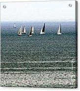 Sailing On Lake Erie Acrylic Print