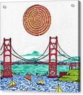 Sailing On San Francisco Bay Acrylic Print