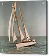 Sailing, One Of The Many Sports Acrylic Print