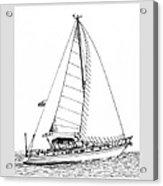 Sailing Sailing Sailing Acrylic Print