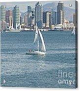 Sailing San Diego Acrylic Print